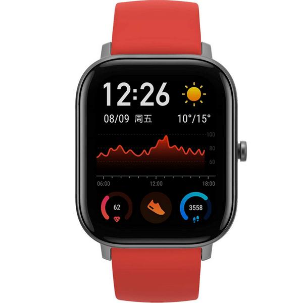 Smartwatch nordic walking